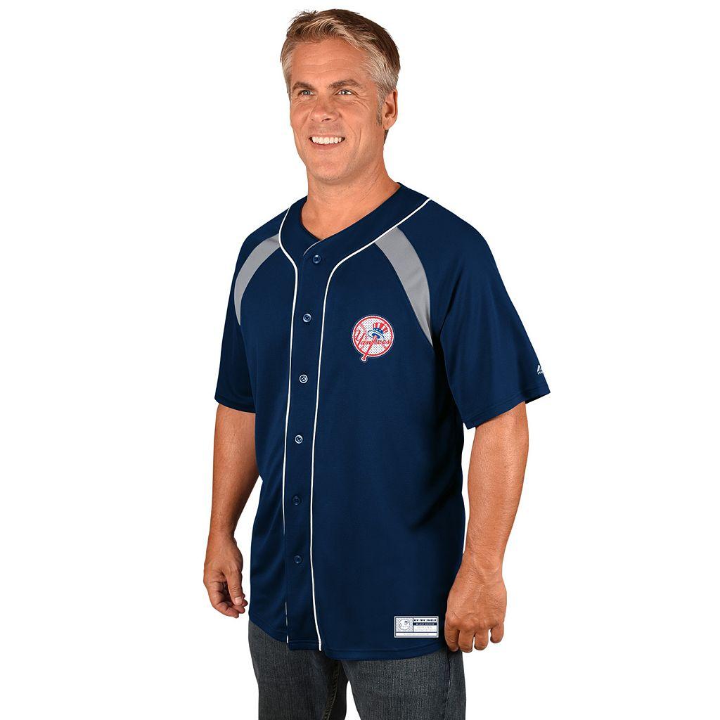 Men's Majestic New York Yankees Train the Body Jersey