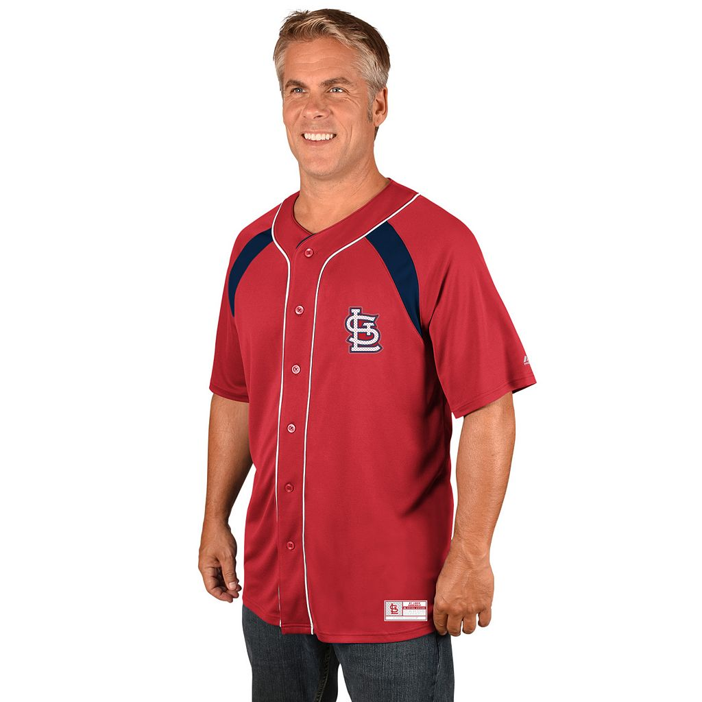 Men's Majestic St. Louis Cardinals Train the Body Jersey