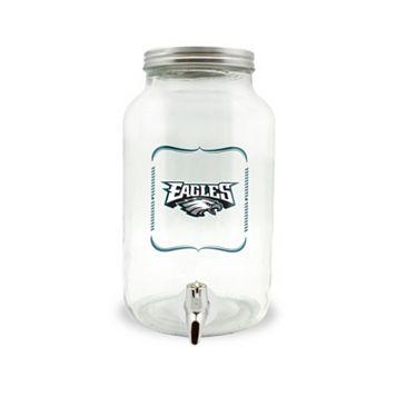 Philadelphia Eagles 3-Liter Glass Beverage Dispenser