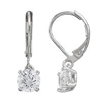Illuminaire Cubic Zirconia Drop Earrings