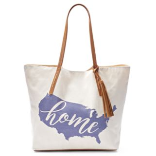SONOMA Goods for Life™ Canvas Tassel Tote