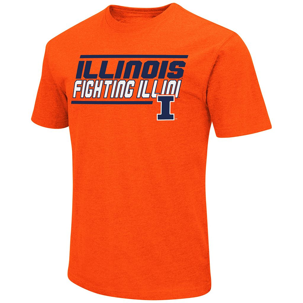 Men's Campus Heritage Illinois Fighting Illini Fan Favorite Tee