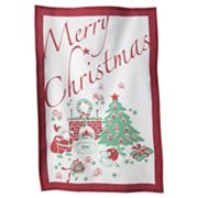 KAF HOME ''Merry Christmas'' Flour Sack Kitchen Towel 3-pk.