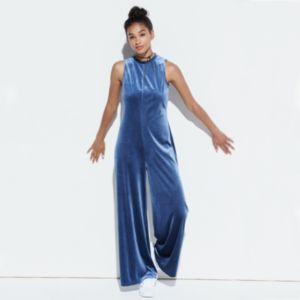 k/lab Velvet Jumpsuit