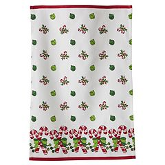 KAF HOME Candy Cane & Jiggle Bell Kitchen Towel 3-pk.