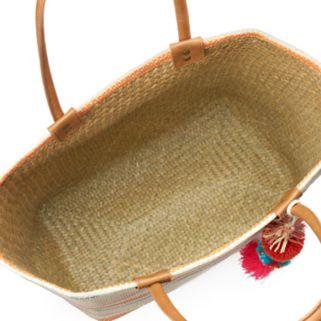SONOMA Goods for Life™ Striped Seagrass Tote