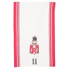 KAF HOME Nutcracker Kitchen Towel 2-pk.