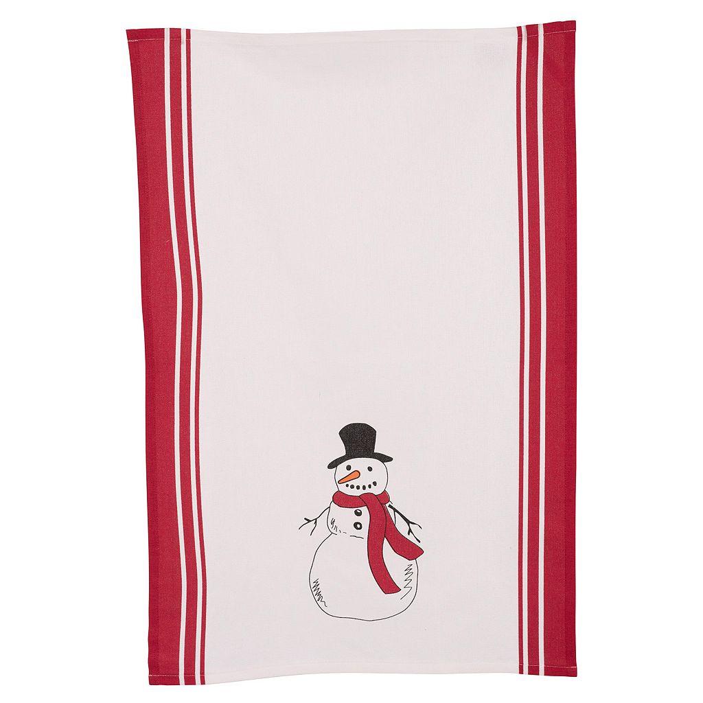 KAF HOME Snowman Kitchen Towel 2-pk.
