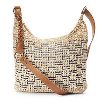 SONOMA Goods for Life™ Straw Basketweave Crossbody Bag