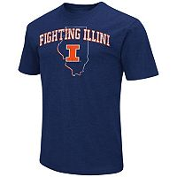 Men's Campus Heritage Illinois Fighting Illini State Tee