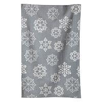 KAF HOME Snowflake Terry Kitchen Towel 3-pk.
