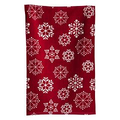 KAF HOME Snowflake Terry Kitchen Towel 3-pk.