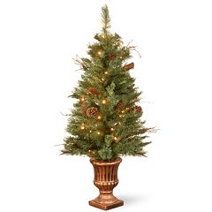 National Tree Company 4-ft. Pre-Lit Artificial Pine Porch Tree
