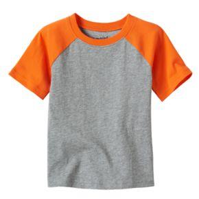 Toddler Boy Jumping Beans® Colorblock Raglan Short Sleeve Tee