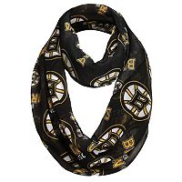 Women's Forever Collectibles Boston Bruins Logo Infinity Scarf