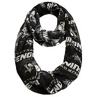 Women's Forever Collectibles Pittsburgh Penguins Logo Infinity Scarf