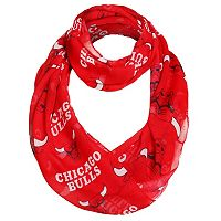 Women's Forever Collectibles Chicago Bulls Logo Infinity Scarf