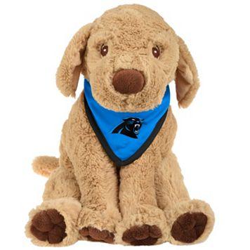 Forever Collectibles Carolina Panthers Plush Dog with Bandana