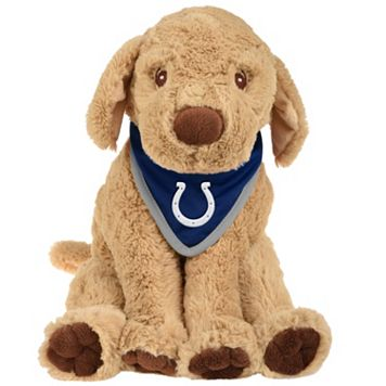 Forever Collectibles Indianapolis Colts Plush Dog with Bandana
