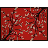 United Weavers China Garden Belladonna Branches Rug
