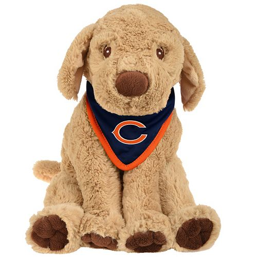 best loved a3824 73b63 Forever Collectibles Chicago Bears Bandana Plush Dog