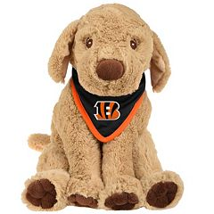 Forever Collectibles Cincinnati Bengals Bandana Plush Dog