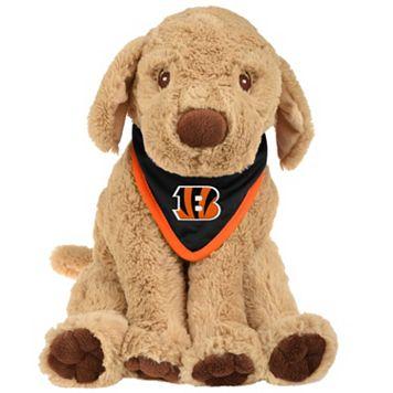 Forever Collectibles Cincinnati Bengals Bandana Plush Dog