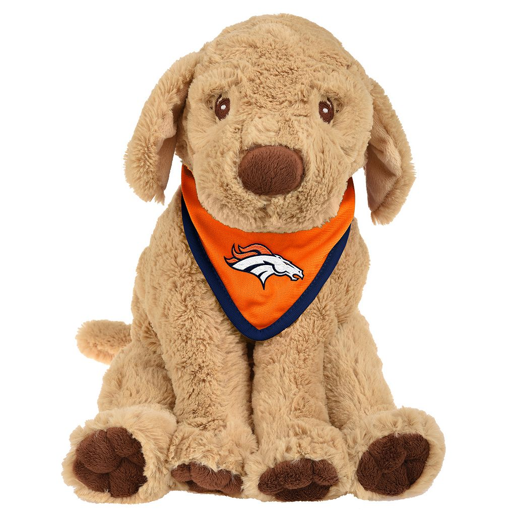 Forever Collectibles Denver Broncos Bandana Plush Dog