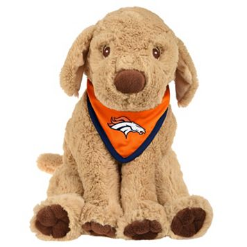 Forever Collectibles Denver Broncos Bandana Plush Dog