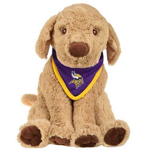 Forever Collectibles Minnesota Vikings Bandana Plush Dog d4e388902