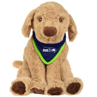 Forever Collectibles Seattle Seahawks Bandana Plush Dog