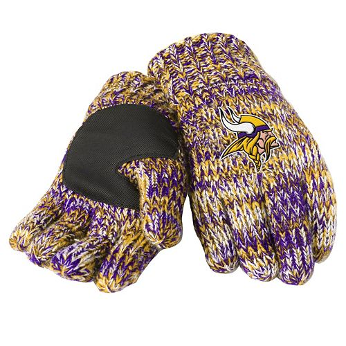 Adult Forever Collectibles Minnesota Vikings Peak Gloves