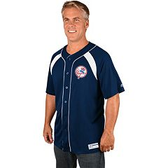 Men's Majestic New York Yankees Cooperstown Peak Power Output Jersey