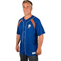 Men's Majestic New York Mets Cooperstown Peak Power Output Jersey
