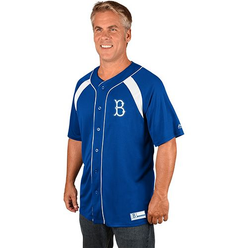 Men's Majestic Los Angeles Dodgers Cooperstown Peak Power Output Jersey