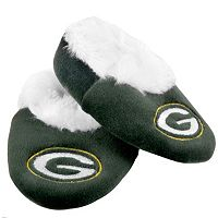 Baby Forever Collectibles Green Bay Packers Bootie Slippers