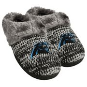 Women's Forever Collectibles Carolina Panthers Peak Slide Slippers