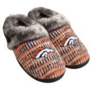 Women's Forever Collectibles Denver Broncos Peak Slide Slippers