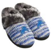 Women's Forever Collectibles Detroit Lions Peak Slide Slippers