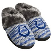 Women's Forever Collectibles Indianapolis Colts Peak Slide Slippers