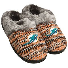 Women's Forever Collectibles Miami Dolphins Peak Slide Slippers