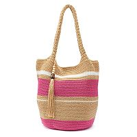 SONOMA Goods for Life™ Crochet Striped Bucket Bag