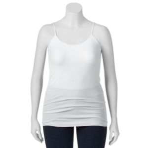 Juniors' Plus Size SO® Seamless Solid Tunic Tank