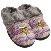 Women's Forever Collectibles Minnesota Vikings Peak Slide Slippers