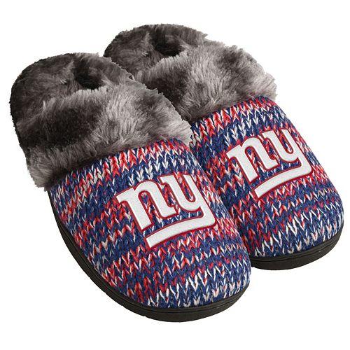 Women's Forever Collectibles New York Giants Peak Slide Slippers