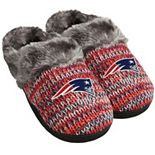 Women's Forever Collectibles New England Patriots Peak Slide Slippers