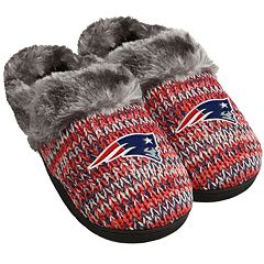 d8051c30763 Women s Forever Collectibles New England Patriots Peak Slide Slippers