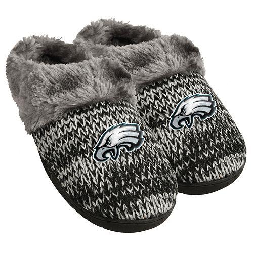 huge discount 00fca 4e99e Women's Forever Collectibles Philadelphia Eagles Peak Slide Slippers