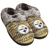 Women's Forever Collectibles Pittsburgh Steelers Peak Slide Slippers