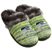 Women's Forever Collectibles Seattle Seahawks Peak Slide Slippers